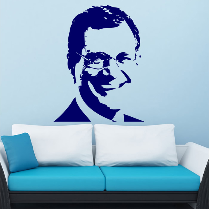 David Letterman Wall Sticker Icon Wall Art