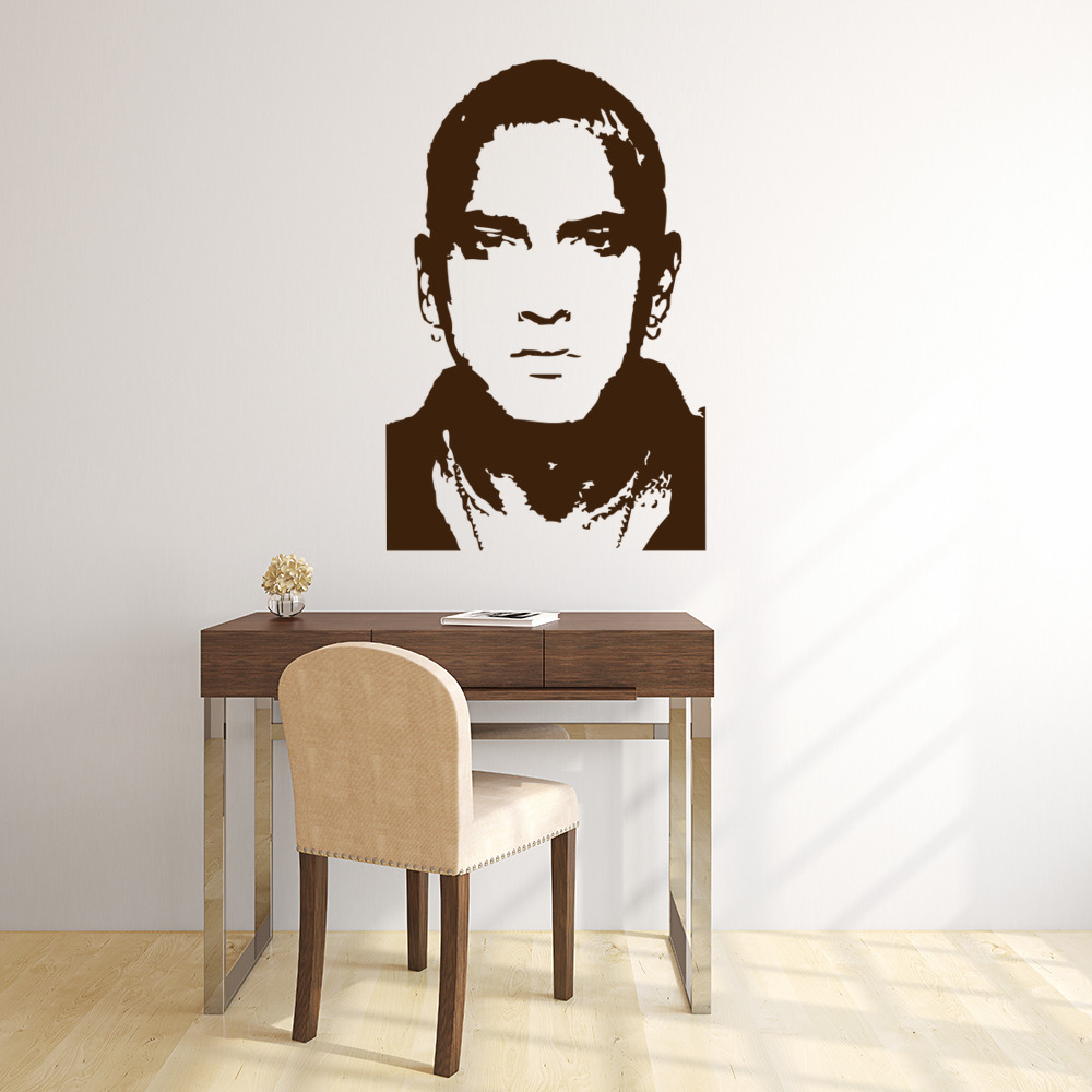 Eminem Wall Sticker Icon Wall Art