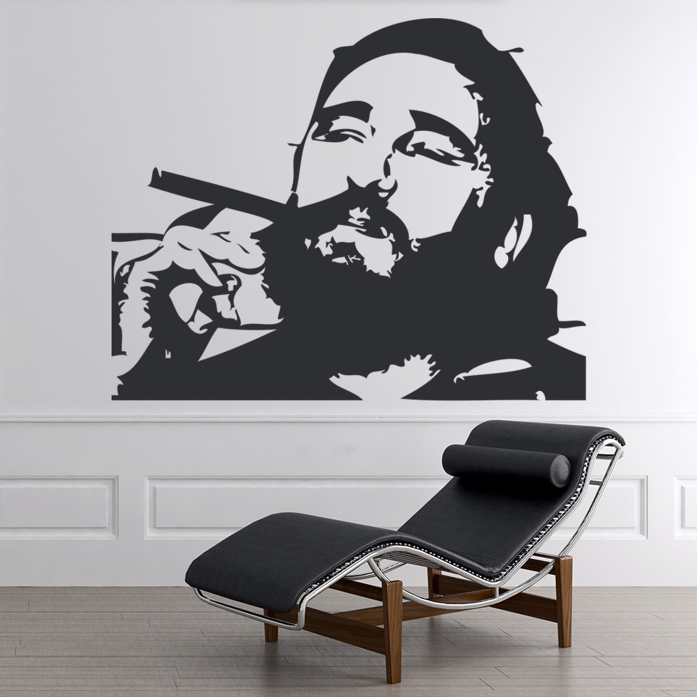 Fidel Castro Wall Sticker Icon Wall Art