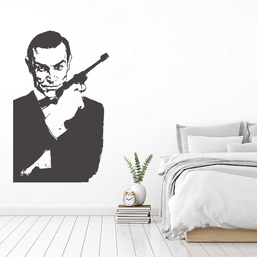 007 James Bond Wall Sticker Icon Wall Art