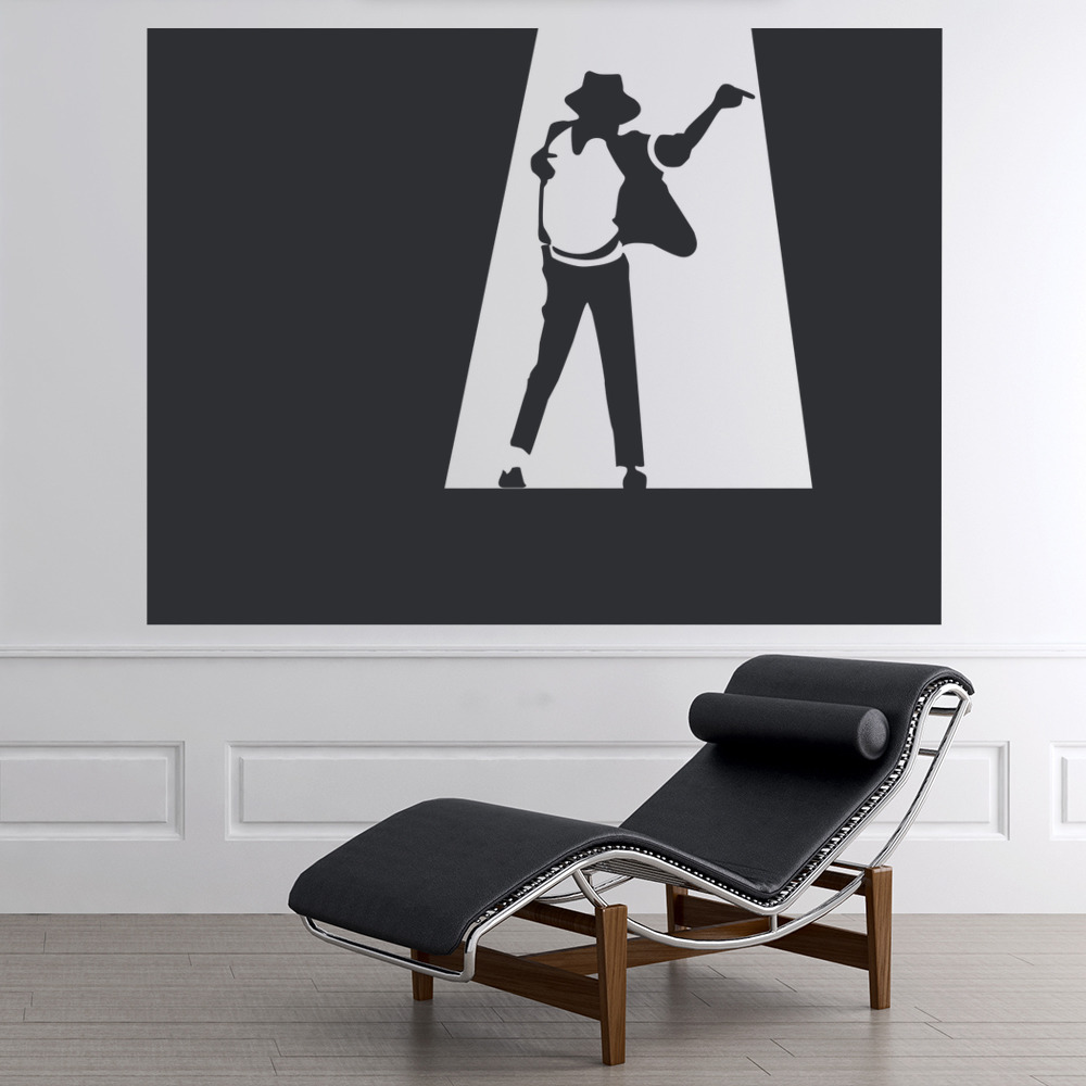 Michael Jackson Spotlight Wall Sticker Icon Wall Art