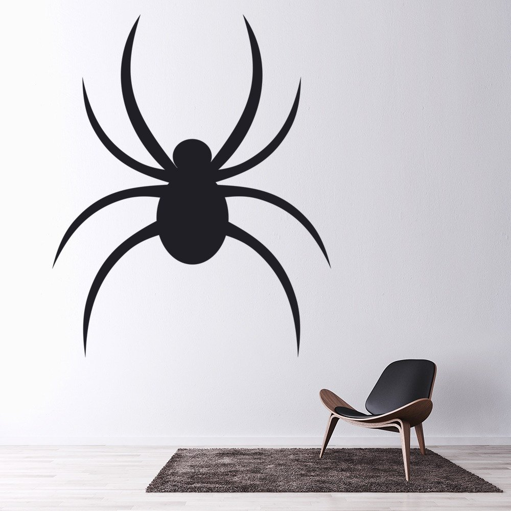 Spider Wall Sticker Halloween Wall Art