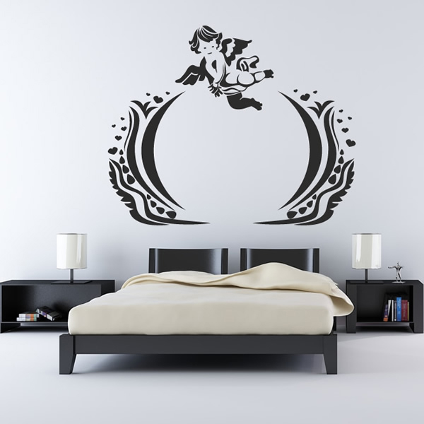 Cherub Embellishment Wall Sticker Children's Wall Art