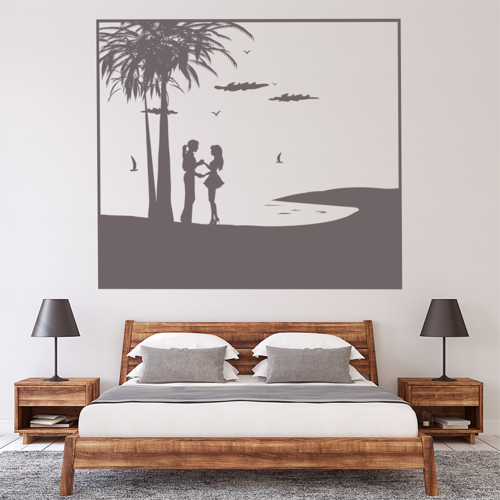 Beach Scene Wall Stickers Beach Wall Art