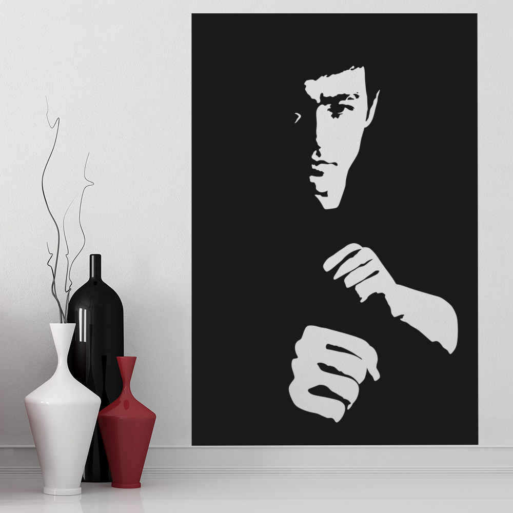 Bruce Lee Wall Sticker Icon Wall Art