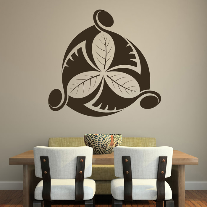 Clover Centrepiece Decorative Patterns Wall Stickers Home Decor Art Decals