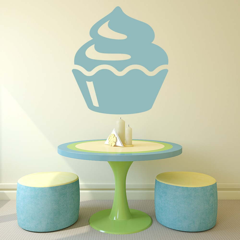Cup Cake Wall Sticker Cup Cake Wall Art