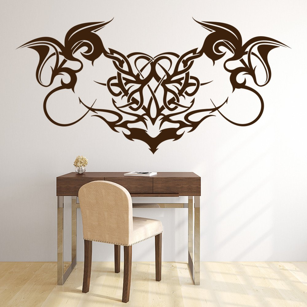 Gothic Print Embellishment Decorative Patterns Wall Sticker Home Decor Art Decal