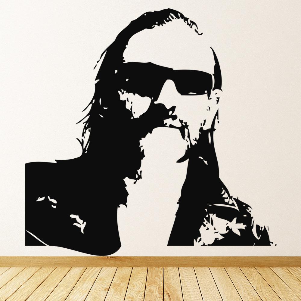 Lemmy Kilmister Wall Sticker Icon Wall Art