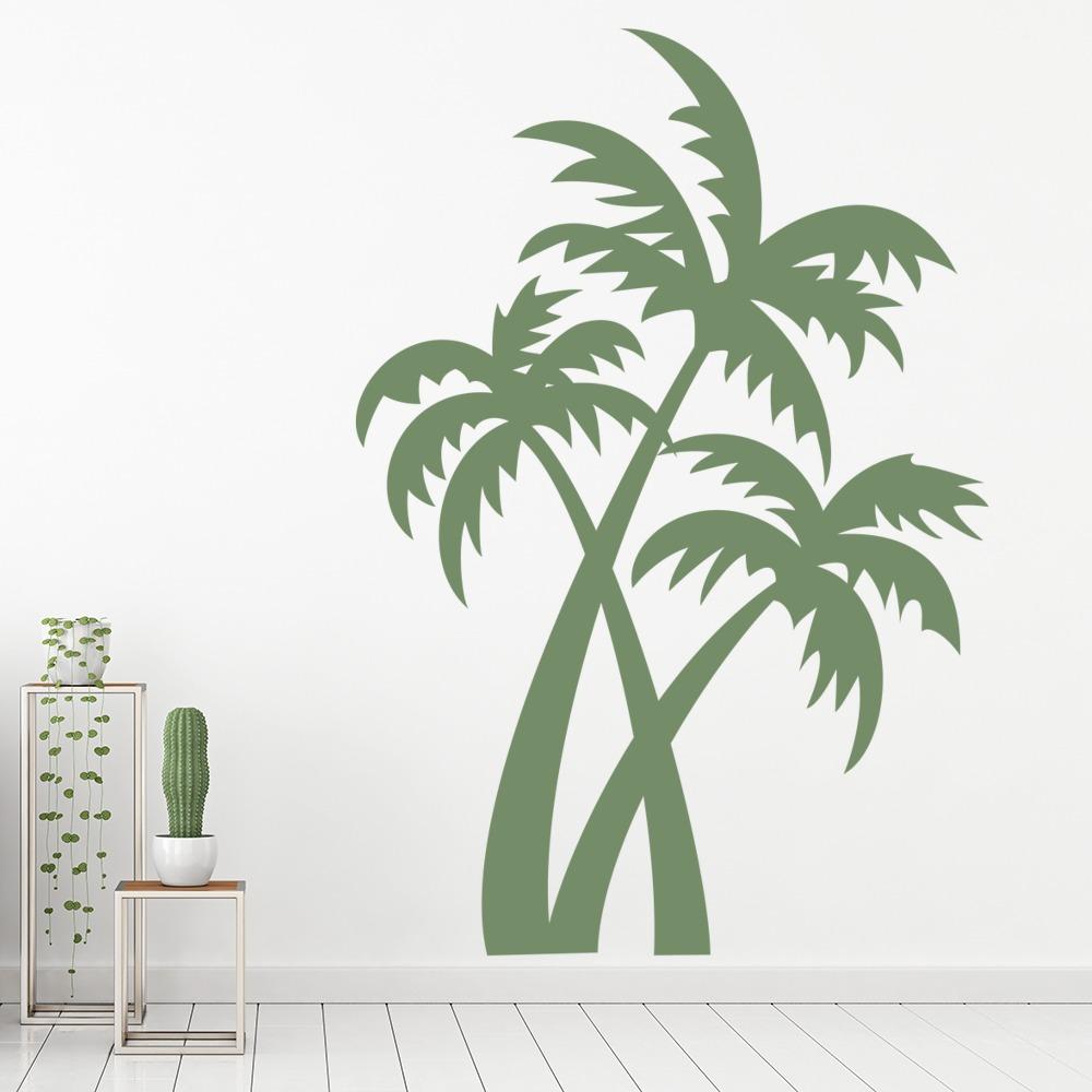 Palm Tree Wall Stickers Nature Wall Art