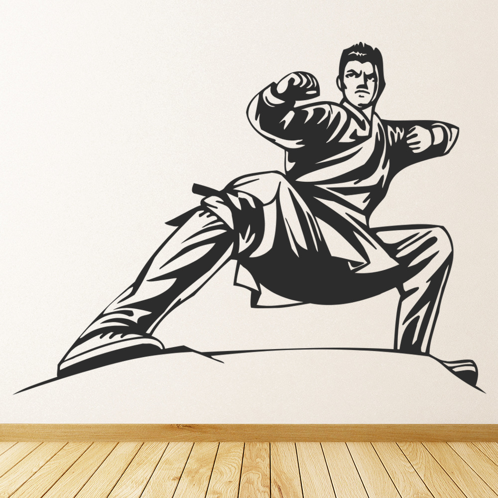 Karate Stance Wall Sticker Martial Arts wall Art