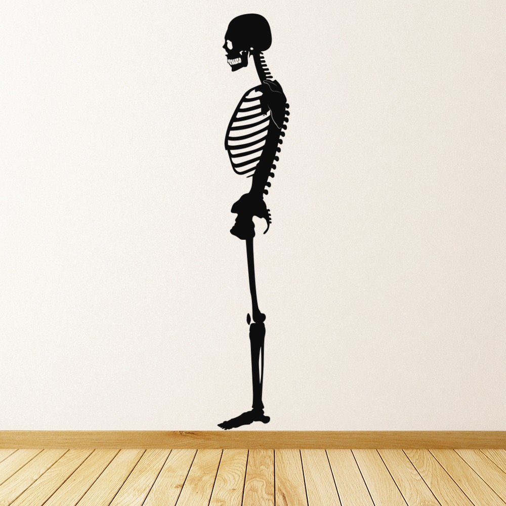 Skeleton Wall Sticker Skeleton Wall Art