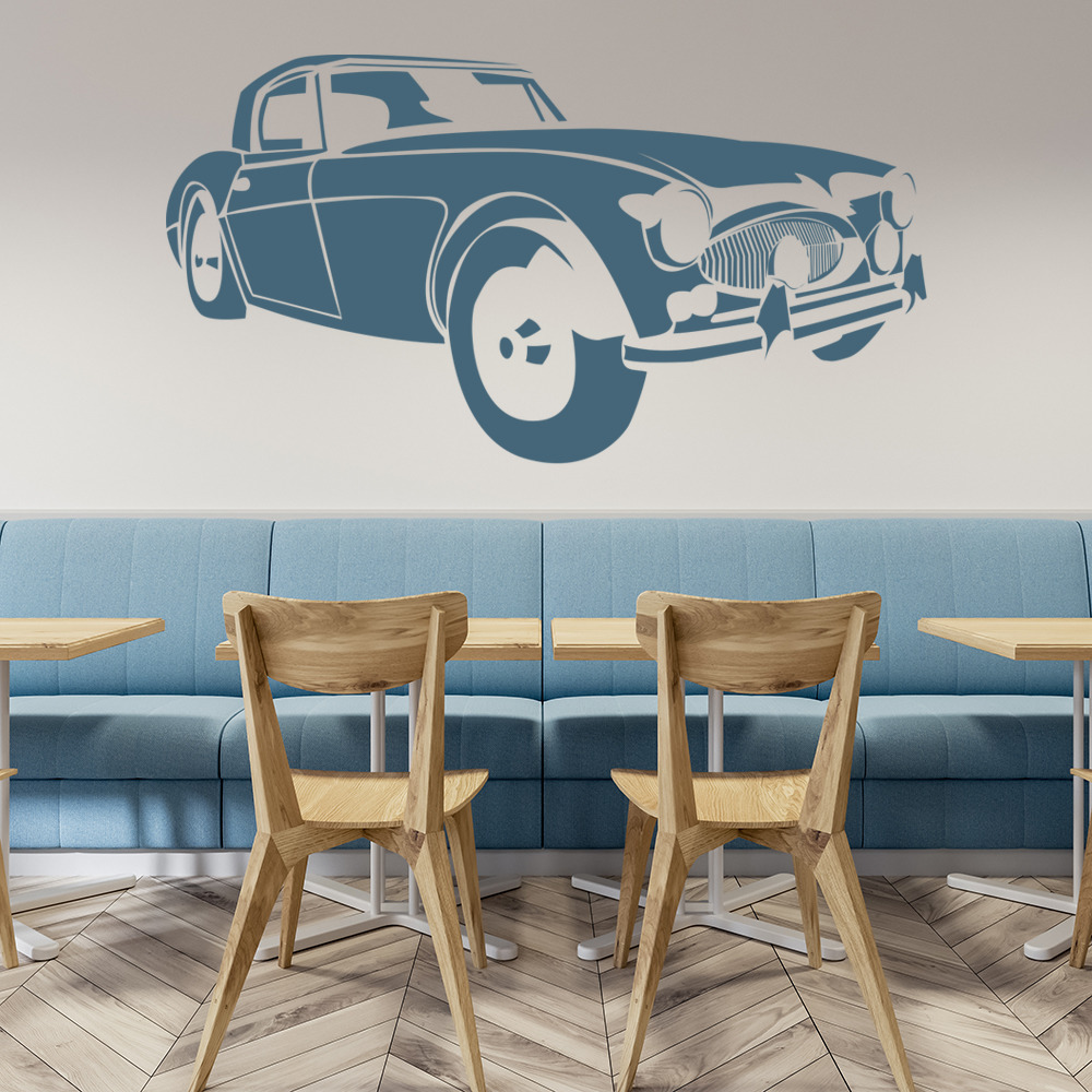 Home Decor Austin: Austin Healey Car Wall Sticker Vehicles Transport Wall