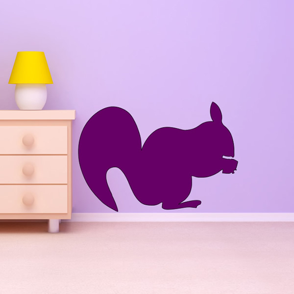 Squirrel Wild Animal Wall Art Stickers Wall Decal