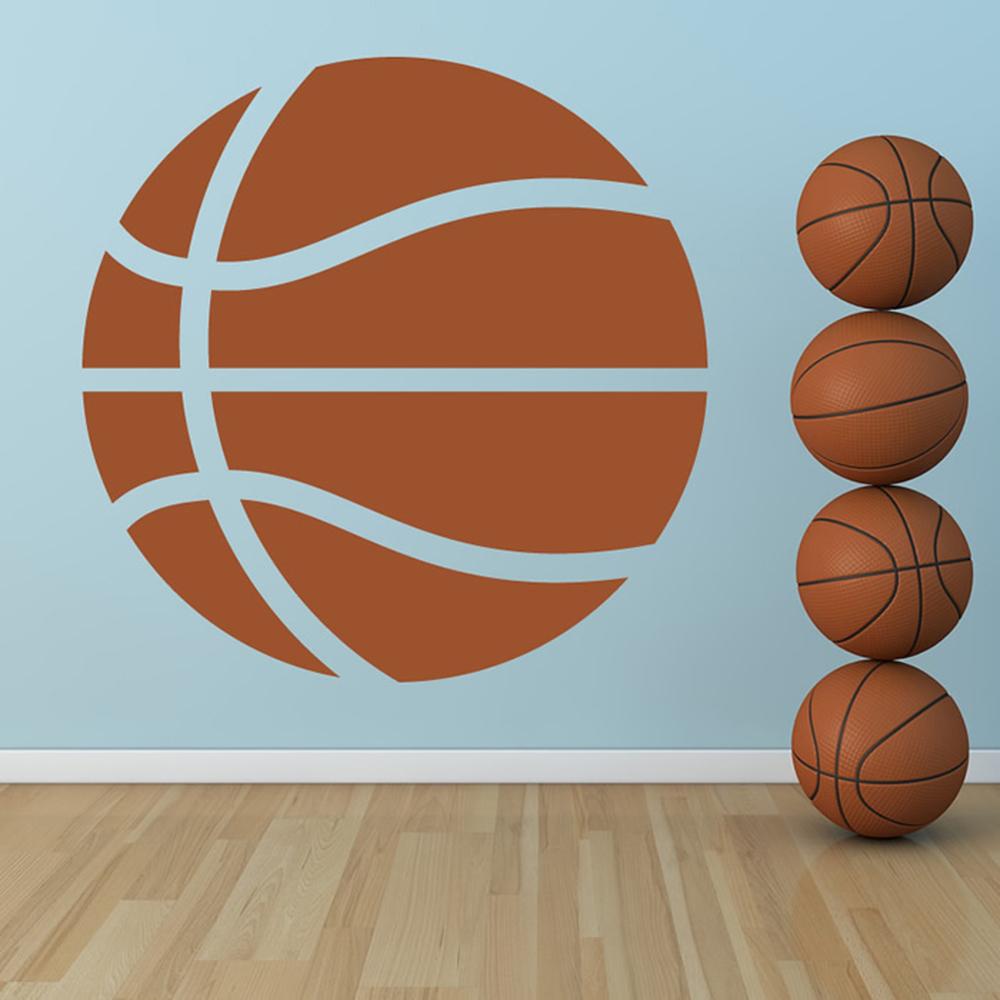 basketball wall sticker sports wall art