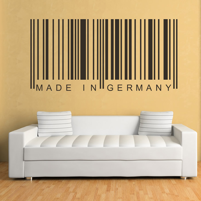Made In Germany Decorative Wall Art Stickers Wall Decal