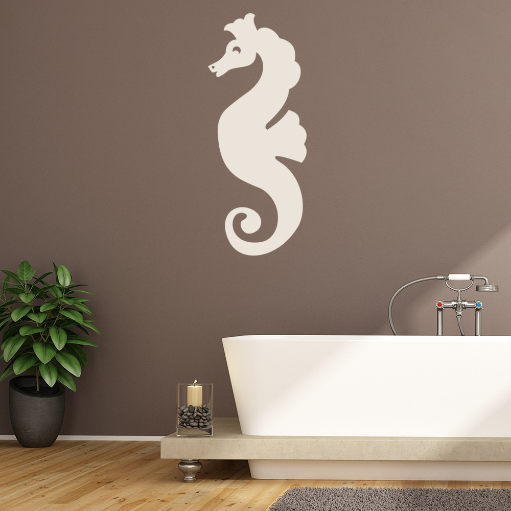 Seahorse Wall Sticker Sea Wall Art