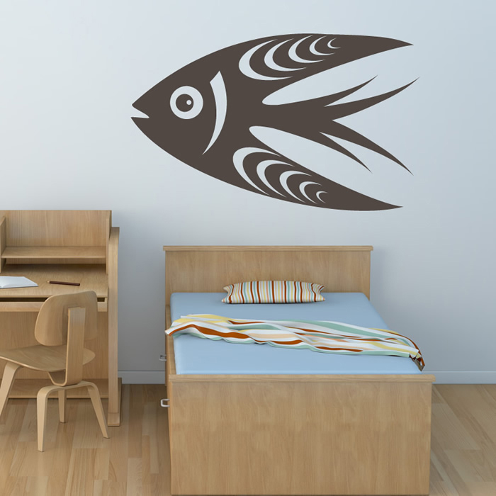 Cartoon Fish Wall Art Sticker Wall Decal
