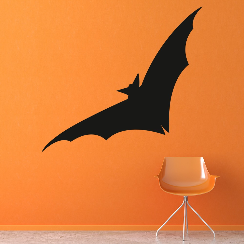 Flying Bat Wall Sticker Halloween Wall Art