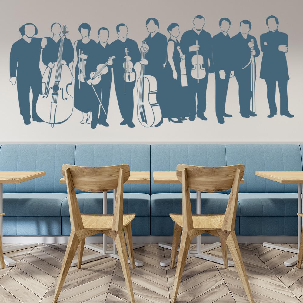 Orchestra Wall Sticker Music Wall Art