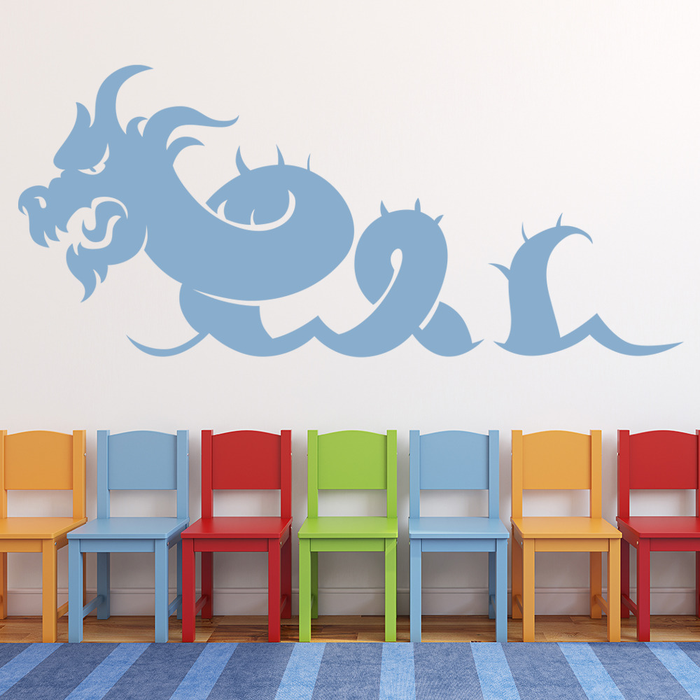 Sea Monster Wall Sticker Sea Wall Art