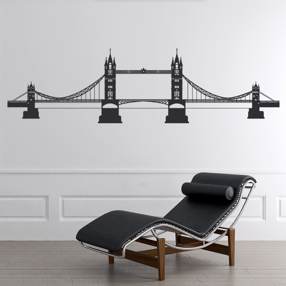 Tower Bridge London EnglAnd United Kingdom Wall Stickers Home Decor Art Decals