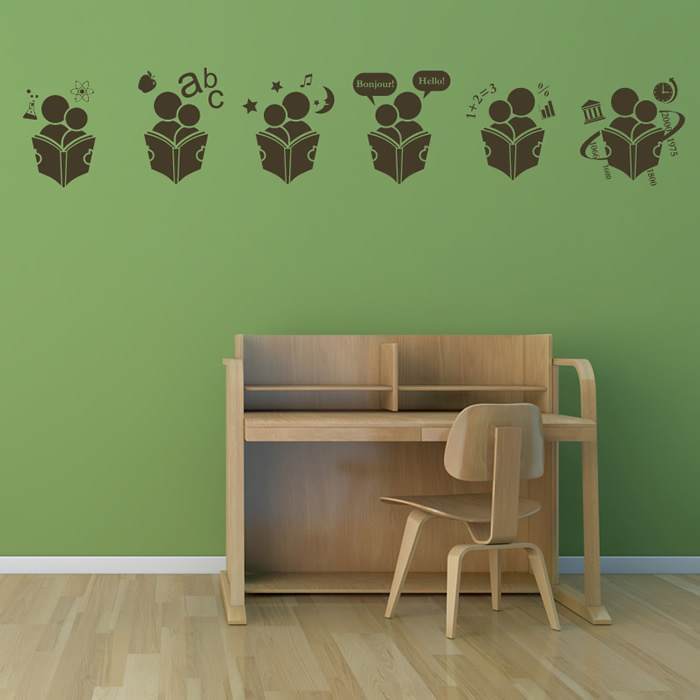 Wall Hanging Lesson Plan: School Lessons Wall Sticker Educational Wall Art