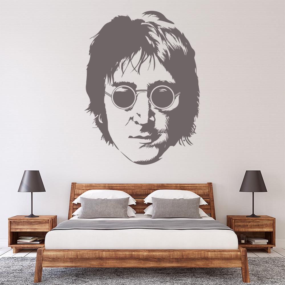 John Lennon Wall Sticker Iconic Wall Art