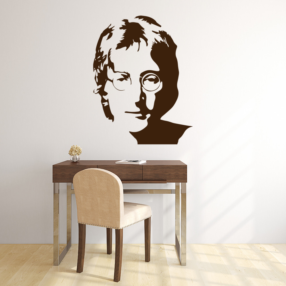 John Lennon Wall Stickers Iconic Wall Art