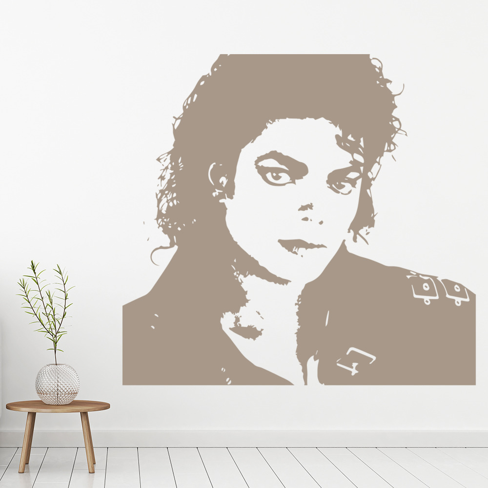 Michael Jackson Music Icons & Celebrities Wall Stickers Home Decor Art Decals