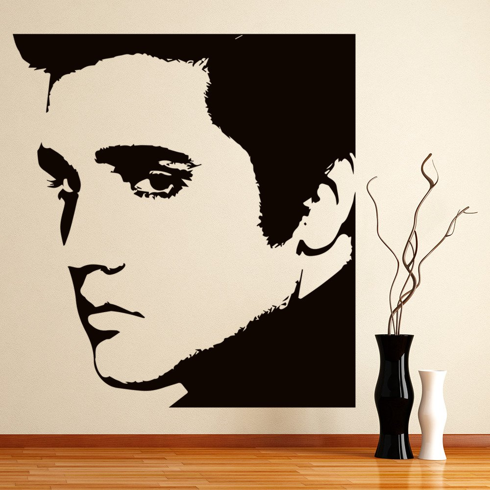 Elvis Presley Wall Art Iconic Style Wall Stickers