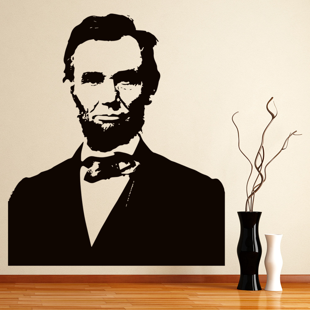 Abraham Lincoln Wall Art President Wall Sticker