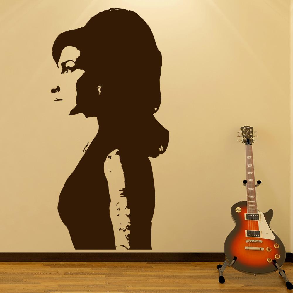 Amy Winehouse Wall Art Iconic Wall Sticker