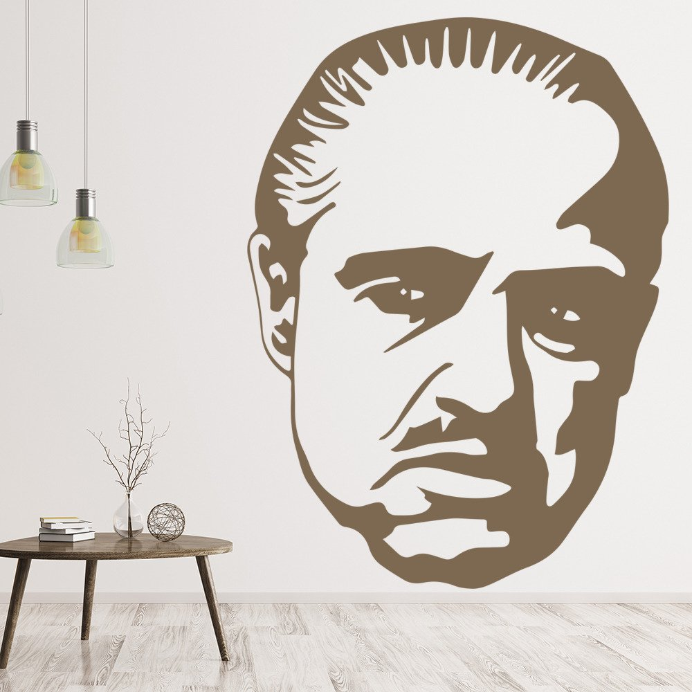 Marlon Brando Wall Art The Godfather Wall Sticker