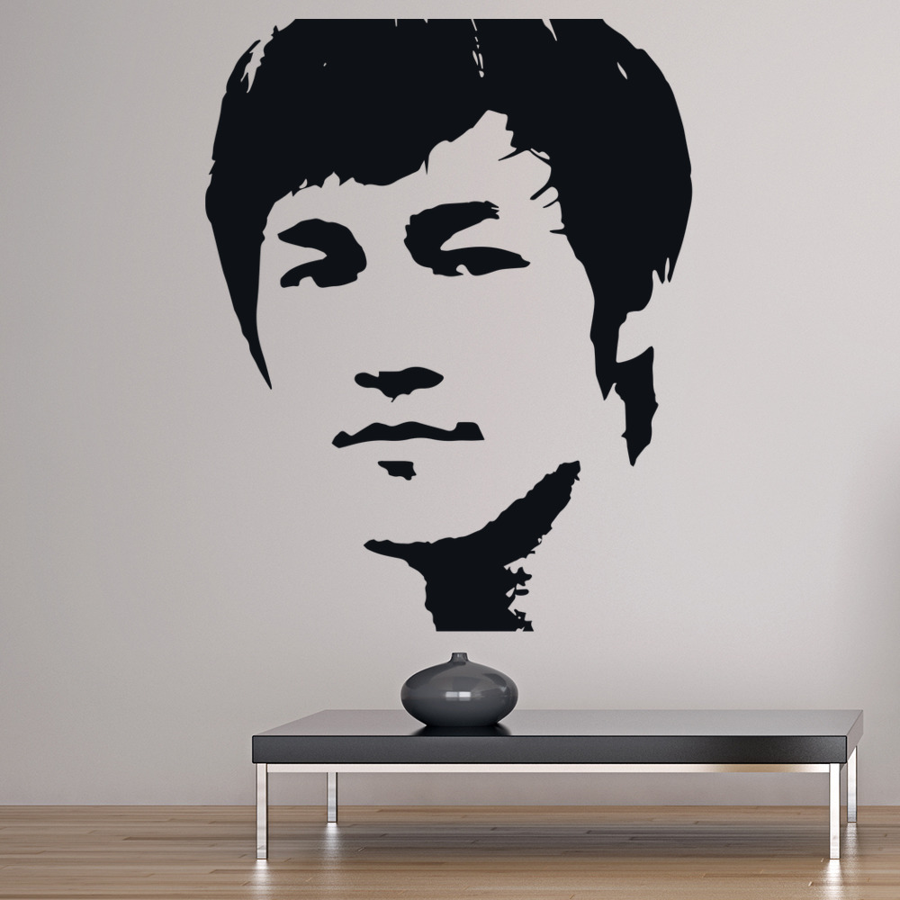 Bruce Lee Wall Art Iconic Wall Sticker