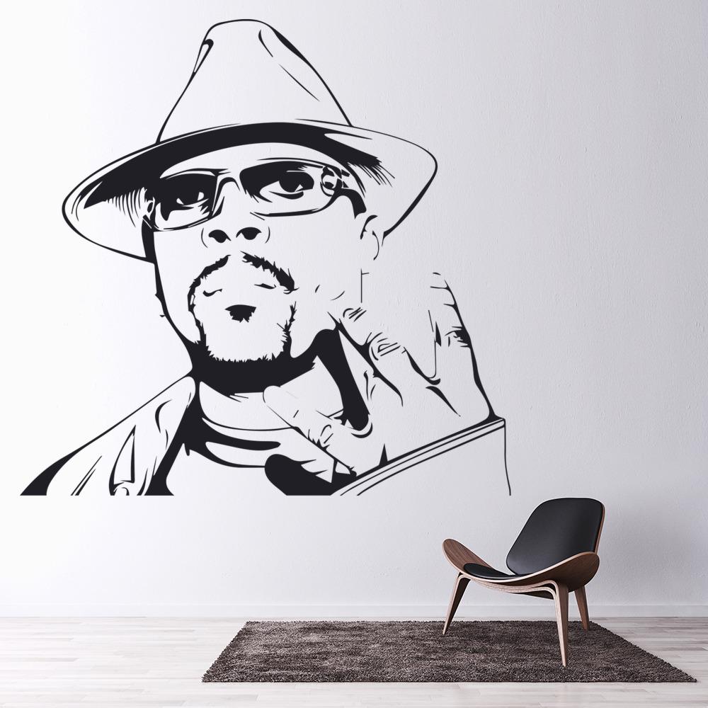 Nate Dogg Wall Art Rapper Wall Sticker