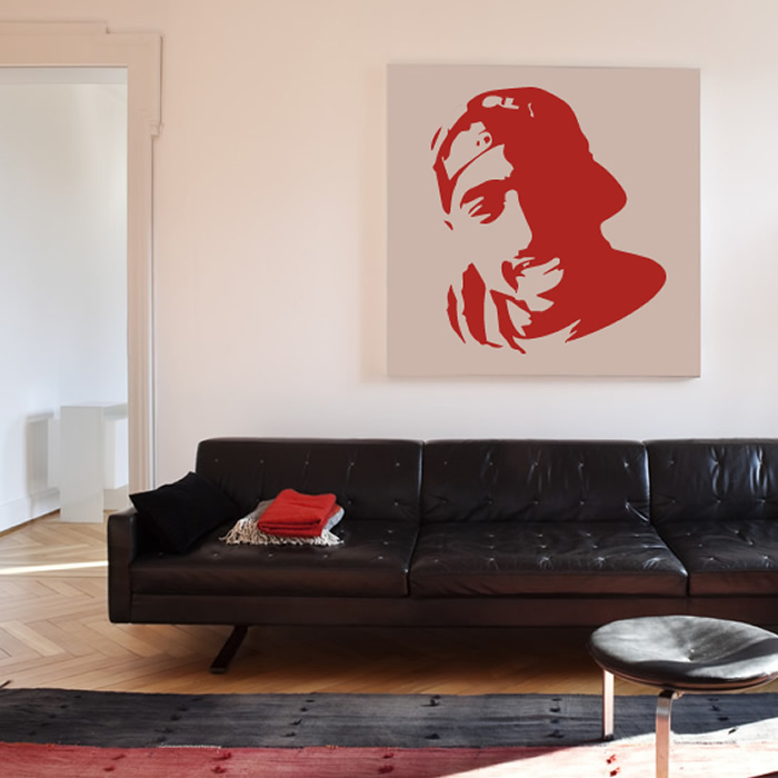 Tupac Wall Art Rapper Wall Sticker