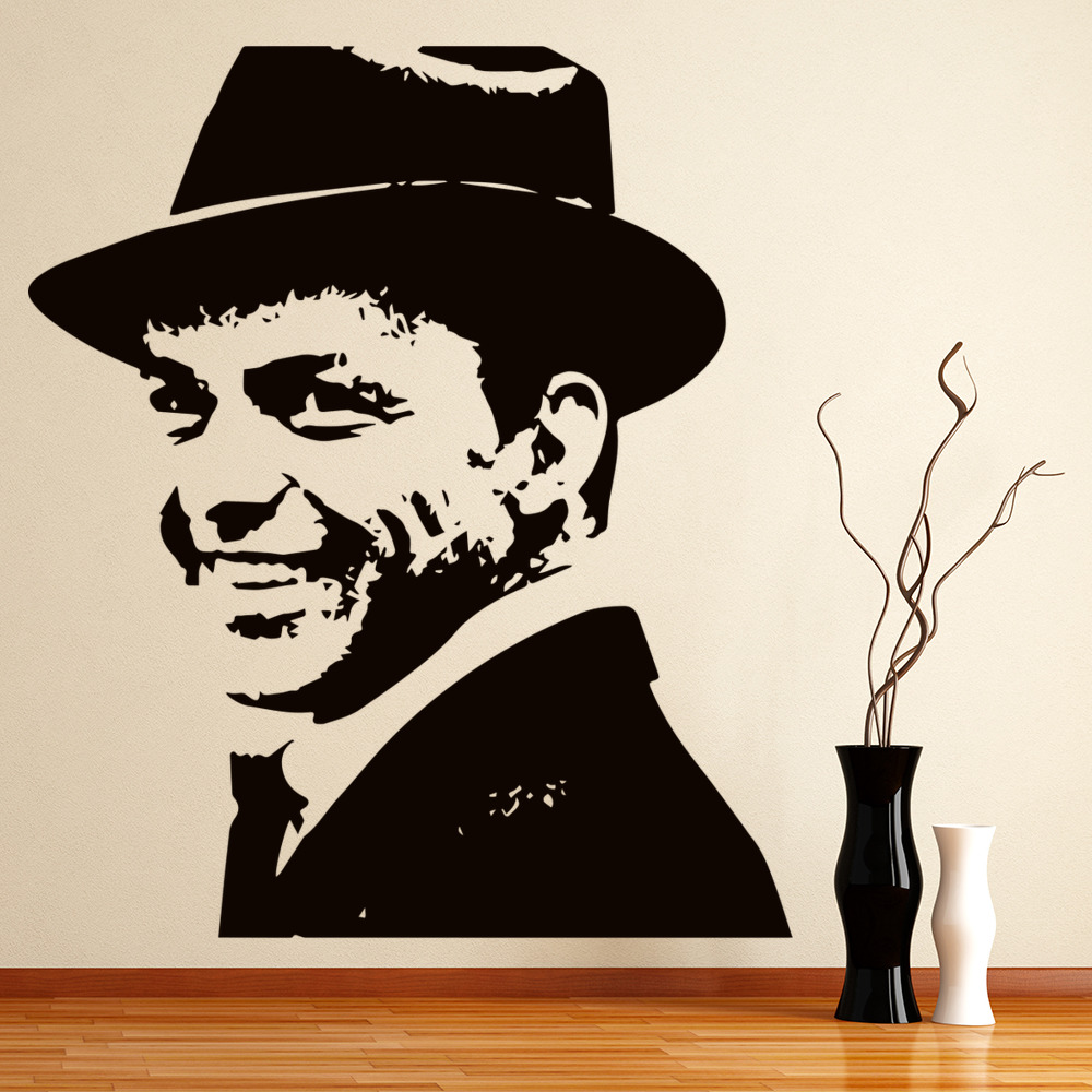 Frank Sinatra Wall Art Iconic Wall Sticker