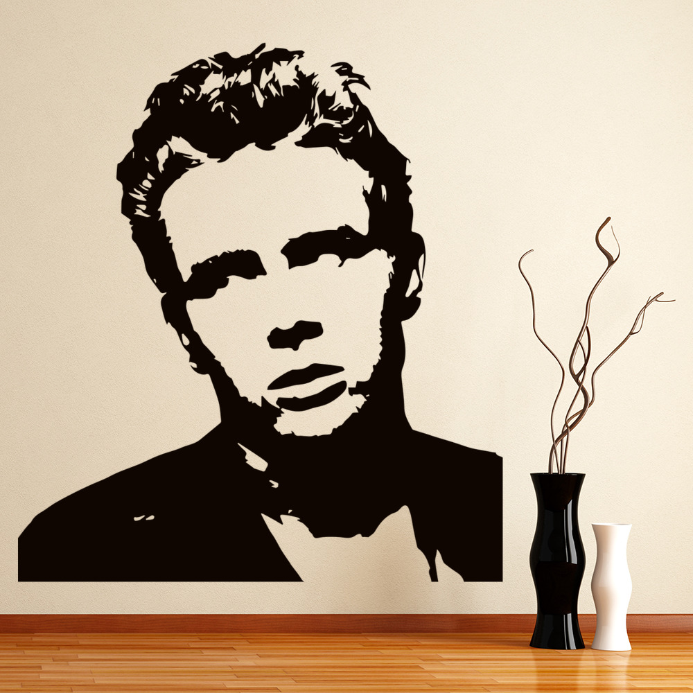 James Dean Wall Art Iconic Wall Sticker