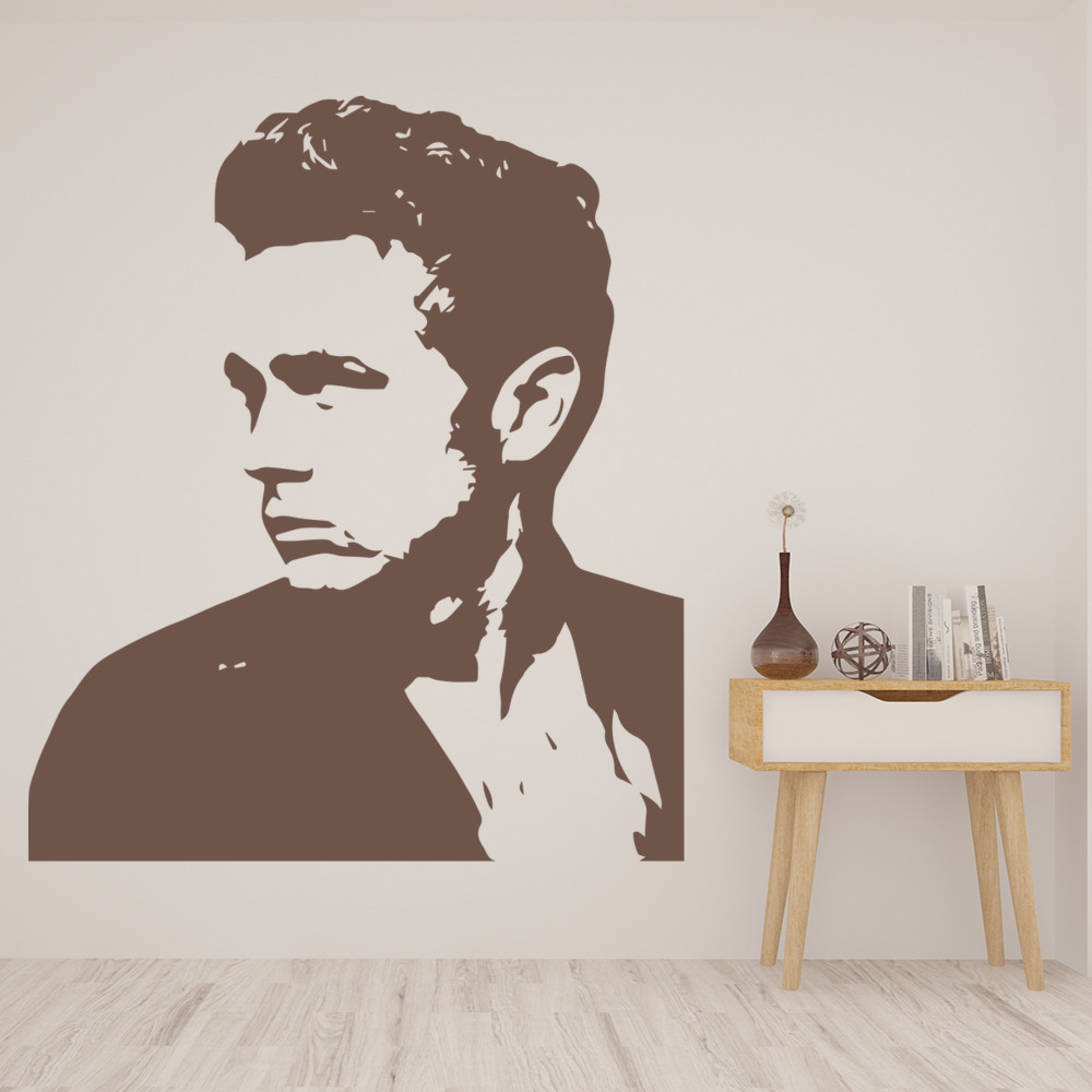 James Dean Wall Stickers Iconic Wall Art