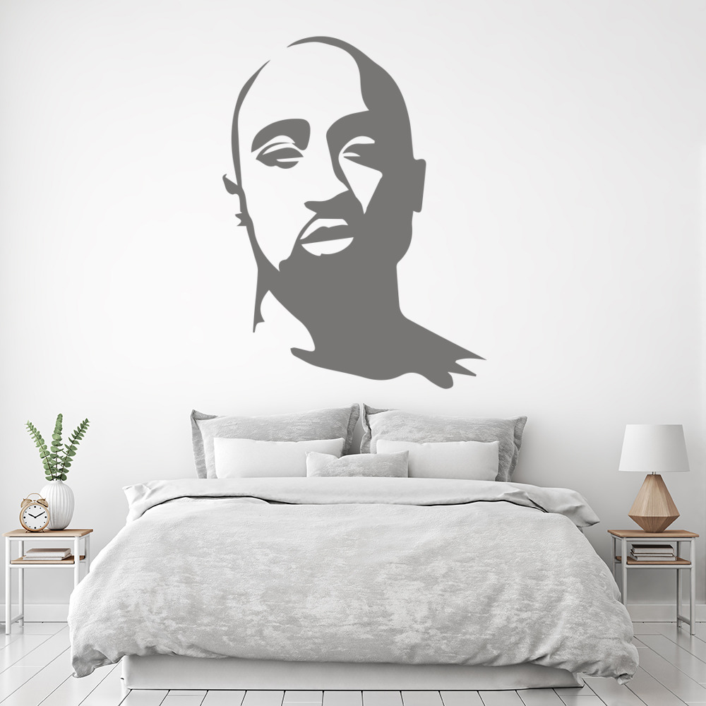 Tupac Wall Art Rapper Wall Stickers