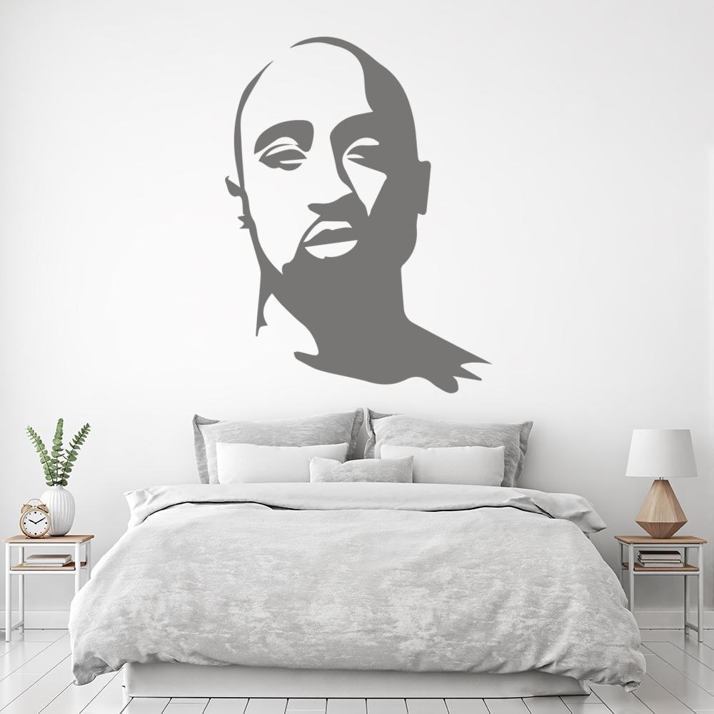 Tupac Wall Art Rapper Wall Stickers