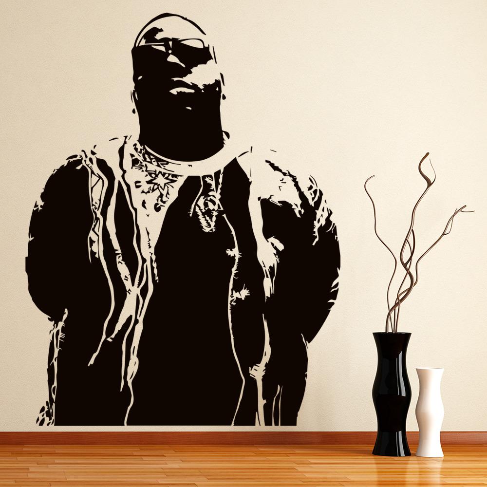 Notorious Big Wall Art Rapepr Wall Stickers