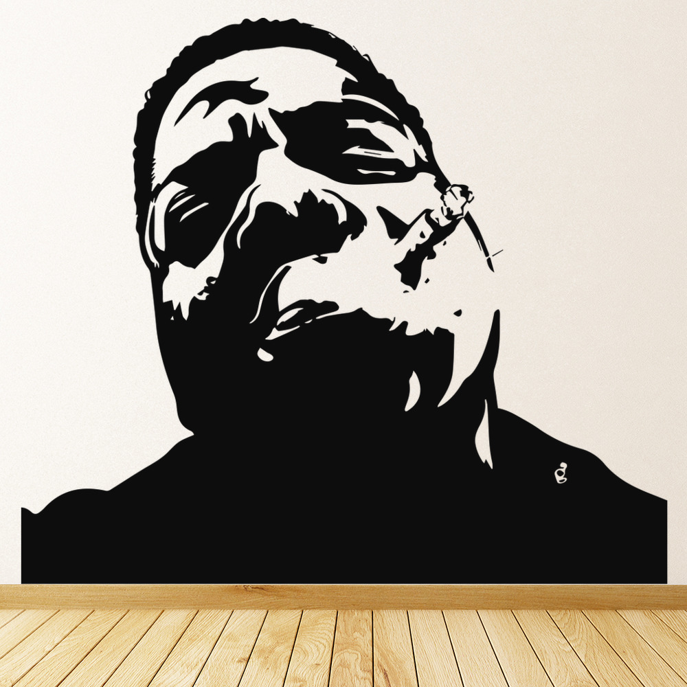 Biggie Smalls Notorious Big Wall Art Rapper Wall Stickers