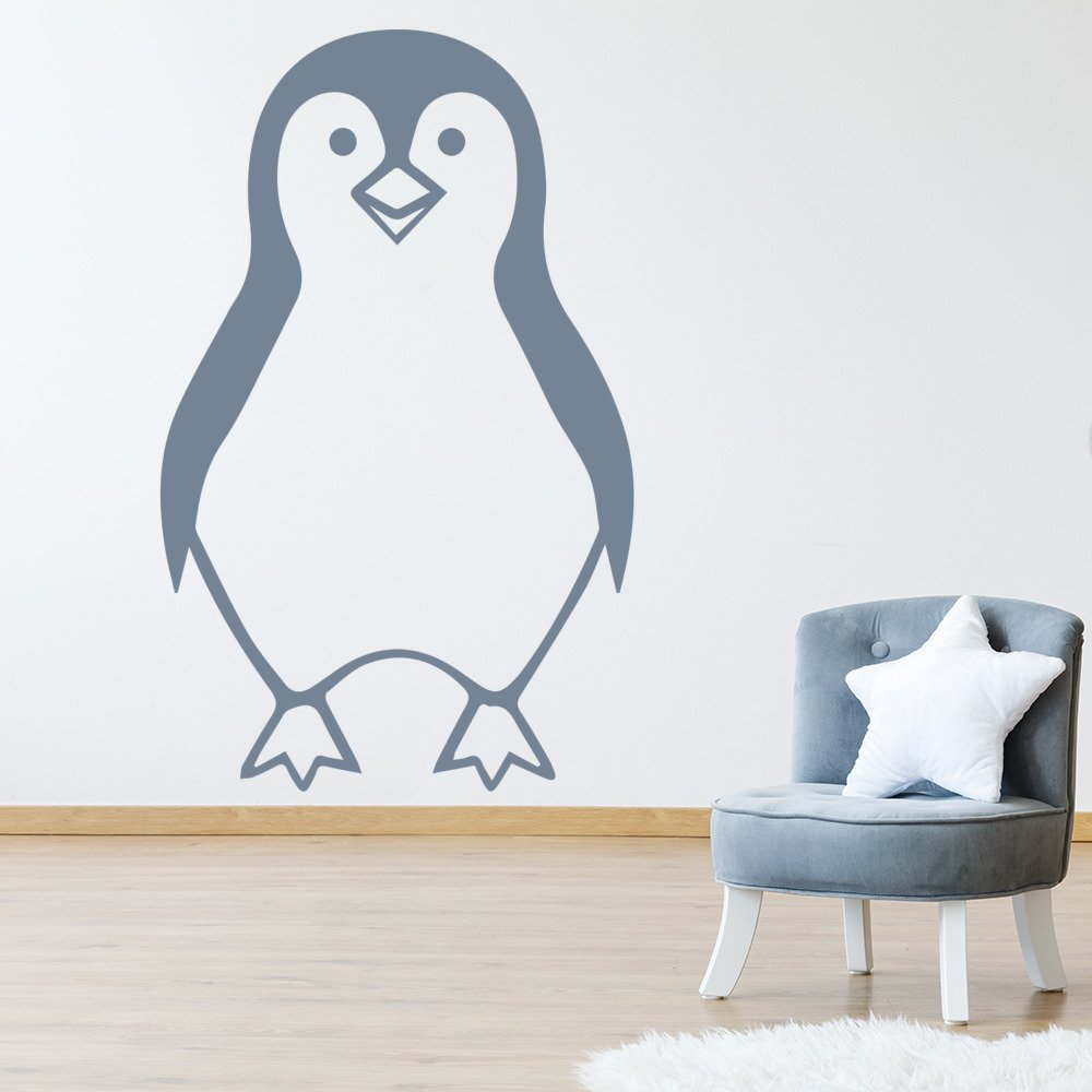 penguins wall sticker penguin wall art penguin wall stickers by chameleon wall art