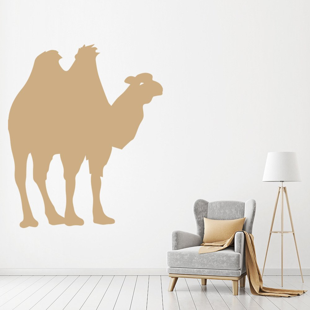 Camel Silhouette Two Humped Bactrian Wild Animals Wall Stickers Home Art Decals