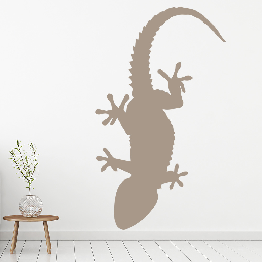 Spiked Gecko Lizard Reptile Wild Animals Wall Stickers Home Decor Art Decals