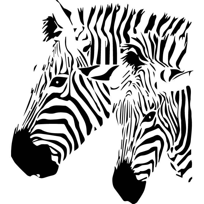 Zebra Profiles Wall St...
