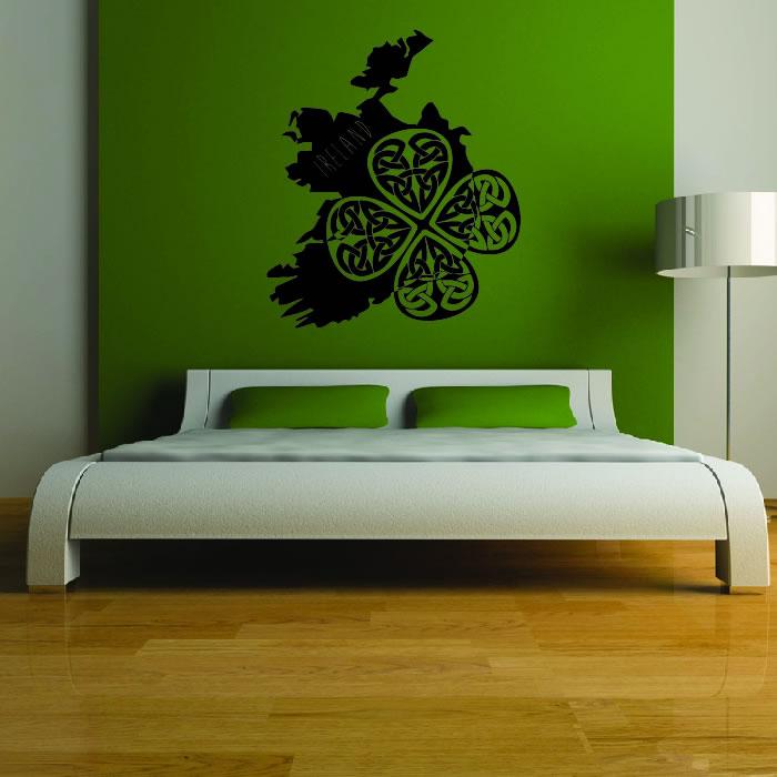 ireland silhouette wall sticker country wall art ireland wall decals amp wall stickers zazzle