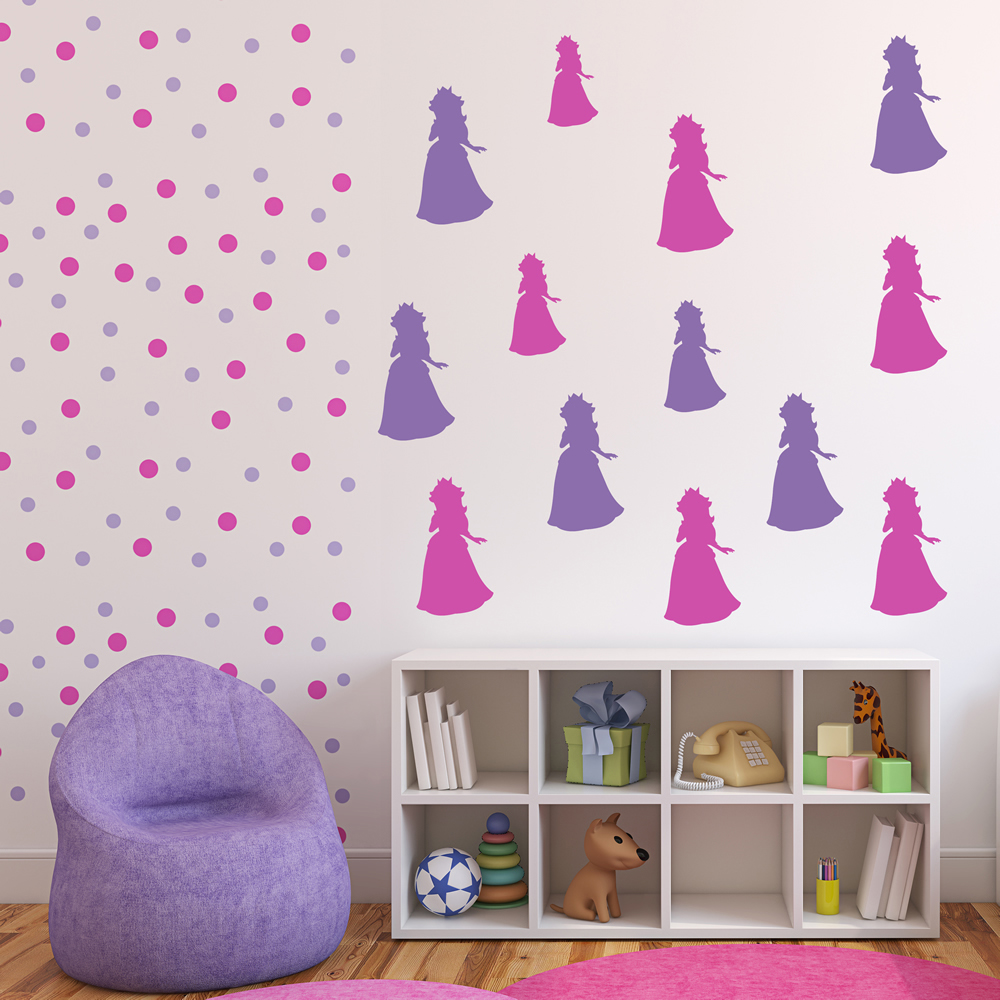 Princess Peach Gaming & Entertainment Creative Multipack Wall Sticker Decals